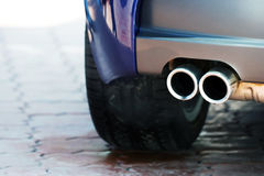 Exhaust pipe Royalty Free Stock Images