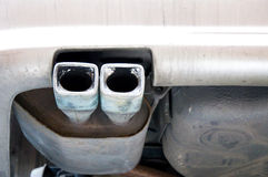 Exhaust pipe car Royalty Free Stock Photography