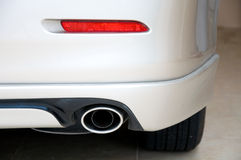 Exhaust pipe car Stock Photography