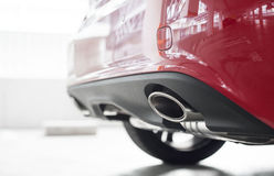 Exhaust pipe Stock Photography