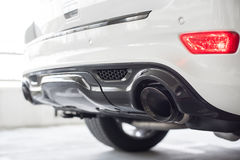 Exhaust pipe Royalty Free Stock Photography