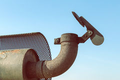 Exhaust pipe 2 Royalty Free Stock Image