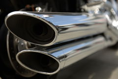 Exhaust pipe Royalty Free Stock Photos