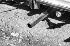 Exhaust pipe. Royalty Free Stock Photos