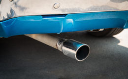 Exhaust pipe. Stock Photography
