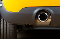 Exhaust pipe Royalty Free Stock Image