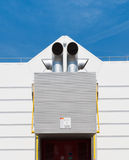 Exhaust pipes Stock Photography