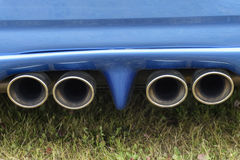 Exhaust pipes Stock Photos