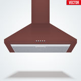 Exhaust range cooker hood Stock Image