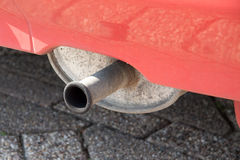 Exhaust system Royalty Free Stock Photo