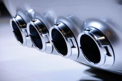 Exhaust System Stock Photo