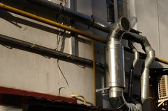 Exhaust Ventilation Pipe On Building Stock Images