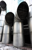 Exhaust vents Royalty Free Stock Image