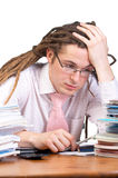 Exhausted Stock Images