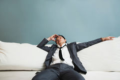 Exhausted, Illness, tired, stressed from overworked concepts. Bu Stock Photography