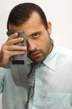 Exhausted Man Stock Images