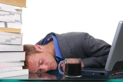 Exhaustion Royalty Free Stock Photography