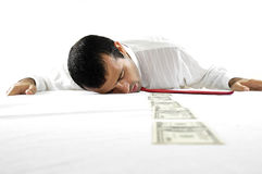 Exhaustion way Stock Image