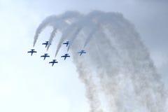 Airshow 1 foto de archivo libre de regalías