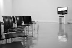 Exhibición de BACC en blanco y negro Fotografía de archivo libre de regalías
