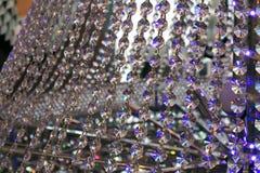 Exhibición de cristal hermosa de la lámpara Fotografía de archivo libre de regalías