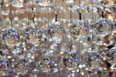 Exhibición de cristal hermosa de la lámpara Imagen de archivo libre de regalías