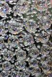 Exhibición de cristal hermosa de la lámpara Foto de archivo
