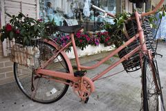 Exhibición de la bicicleta Fotografía de archivo libre de regalías