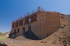 Exhibición de la explotación minera de Cobar Fotos de archivo libres de regalías