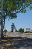 Exhibición de la explotación minera de Cobar Foto de archivo