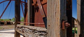 Exhibición de la explotación minera de Cobar Imagenes de archivo