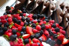 Exhibición de la fruta Foto de archivo