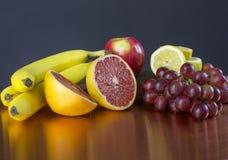 Exhibición de la fruta fotos de archivo