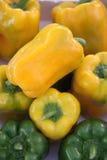 Exhibición de la pimienta dulce Imagenes de archivo