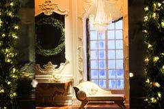 Exhibición de la ventana de Tiffany Fotografía de archivo libre de regalías
