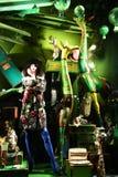 Exhibición de la ventana del día de fiesta en Bergdorf Goodman, NYC Imagen de archivo libre de regalías