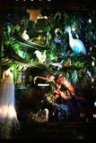 Exhibición de la ventana del día de fiesta en Bergdorf Goodman, NYC Foto de archivo libre de regalías