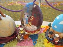 Exhibición del huevo de Pascua Imagen de archivo libre de regalías