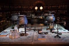 Exhibición del sitio de la poción de Harry Potter foto de archivo