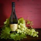 Exhibici?n del vino blanco de Chardonnay de las colinas de Wolf Blass Gold Label Adelaide imagen de archivo