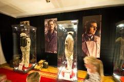 Exhibición del guardarropa de las películas en el castillo de Ksiaz Fotografía de archivo libre de regalías