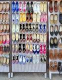 Exhibición del zapato Fotos de archivo