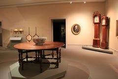 Exhibiciones magníficas de los muebles, relojes de pie e ilustraciones, instituto de la historia y arte, 2016 fotografía de archivo
