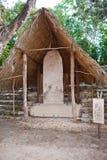 Exhibit Archeologic zone Kabah. Royalty Free Stock Image
