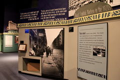 Exhibit chronicling timeline of America's City of Harlem in the 20's State Museum,Albany,2016 Stock Photography