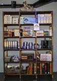 Exhibit inside Maison Cailler Chocolate Factory Broc-Gruyere, Switzerland Stock Photography