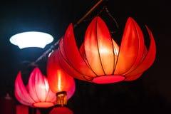 Exhibit of lanterns during the Lantern Festival Stock Photo