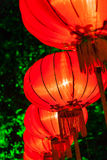 Exhibit of lanterns during the Lantern Festival Royalty Free Stock Images