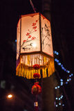 Exhibit of lanterns during the Lantern Festival Royalty Free Stock Photography