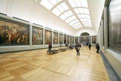 Exhibit Painting Display Stock Image